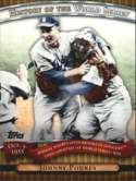Johnny Podres 2010 Topps History Of The World Series Baseball Card #HWS11