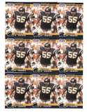 Junior Seau Rookie Card Lot of 25 1990 Pro Set Card #673