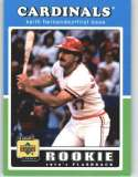 2001 Upper Deck Decade 1970's #109 Keith Hernandez RF - St. Louis Cardinals (Rookie Flashback) (Baseball Cards)