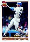 1991 Topps Ken Griffey Jr..... Baseball Card #790 - Shipped In Protective Display Case!
