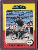 1975 Topps Larry Haney Baseball Card #626