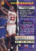 Michael Jordan 1993-94 Topps Stadium Club Basketball Card #169