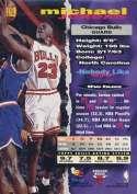 Michael Jordan 1993-94 Topps Stadium Club Basketball Card #169