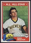 1981 Topps #300 Paul Molitor [Misc.]
