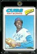 Ray Burris 1977 Topps Baseball Card #190