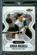 2007 Topps Finest #43 Rocco Baldelli Baseball Card Tampa Bay Devil Rays - Mint Condition - Shipped In Protective Display Case