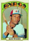 1972 Topps #82 Ron Woods - Montreal Expos (Baseball Cards) EX - Ex. or Better