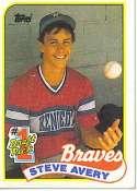 1989 Topps Steve Avery #784 MLB Baseball Rookie Card