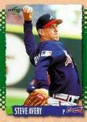 1995 Score #185 Steve Avery Atlanta Braves Baseball Card - Mint Condition - Shipped In A Protective Screwdown Display Case!