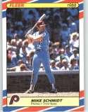 1988 Fleer Superstars #33 Mike Schmidt - Philadelphia Phillies (Baseball Cards)