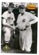 Babe Ruth & Ted Williams 1993 Ted Williams Baseball Card #121 New York Yankees & Boston Red Sox