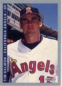 1993 Fleer #197 Tim Salmon California Angels Baseball Card