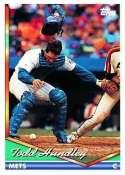 1994 Topps #8 Todd Hundley - New York Mets (Baseball Cards)