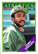 1988 Topps #673 Tony Phillips - Oakland Athletics (Baseball Cards)