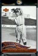 2005 Upper Deck Sweet Spot Classic Baseball Card #93 Walter Johnson Washington Senators - Mint Condition - In Protective Display Case !