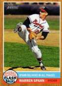 Warren Spahn 2011 Topps Heritage Flashbacks Baseball Card #BF-8