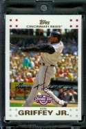 2007 Topps Opening Day #104 Ken Griffey Cincinnati Reds - Mint Condition - Shipped in Protective Display Case !