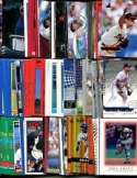 100 Assorted Atlanta Braves Baseball Cards Plus Twelve 9-Pocket Storage Pages (stores up to 216 cards)