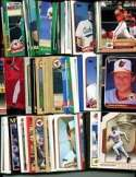 100 Assorted Baltimore Orioles Baseball Cards Plus Twelve 9-Pocket Storage Pages (stores up to 216 cards)