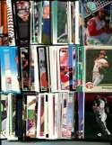 100 Assorted Cincinnati Reds Baseball Cards Plus Twelve 9-Pocket Storage Pages (stores up to 216 cards)