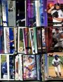 100 Assorted Los Angeles Dodgers Baseball Cards Plus Twelve 9-Pocket Storage Pages (stores up to 216 cards)