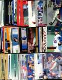 100 Assorted Texas Rangers Baseball Cards Plus Twelve 9-Pocket Storage Pages (stores up to 216 cards)