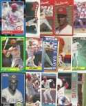 20 Assorted Eric Davis Collectible Baseball Cards
