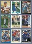 20 Assorted Larry Walker Baseball Cards (Rookie Card Included)