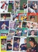 20 Assorted Tom Glavine Baseball Cards