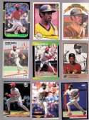 20 Different Ozzie Smith Baseball Cards