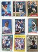 20 Different Rafael Palmeiro Baseball Cards