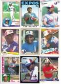 20 Different Tim Raines Baseball Cards