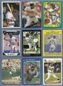 40 Assorted Gary Sheffield Baseball Cards In Collectors Display Album