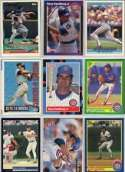 25 Different Ryne Sandberg Baseball Cards - Mint Condition In Display Album