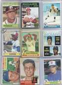 40 Different Topps Baseball Cards From 1960-1979 in Protective Display Album!