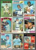 40 Different Vintage Chicago Cubs Topps Baseball Cards from 1970-1979 - Shipped in Protective Display Album!