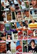40 Different Vintage Cleveland Indians Topps Baseball Cards from 1970-1979 - Shipped in Protective Display Album!