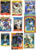 Alvin Davis Seattle Mariners Collectors Baseball Card Lot