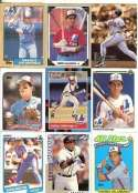Andres Galarraga 20-Card Set with 2-Piece Acrylic Case