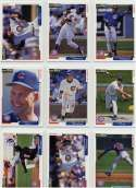 Collection of 43 Assorted Baseball Cards '91-'98