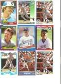 Various Brands Milwaukee Brewers Robin Yount 20 Trading Card Set [Misc.]