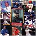 Various Brands Tampa Bay Rays Greg Vaughn 20 Trading Card Set