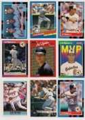 Cal Ripken 25-card set with 2-piece acrylic case