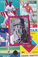 Ozzie Smith 20-card set with 2-piece acrylic case