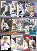 20 Assorted Greg Maddux Baseball Cards In Acrylic Snap-Lock Case