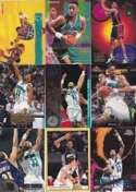 Alonzo Mourning 20 Card Assortment In Protective Collector's Display Album!