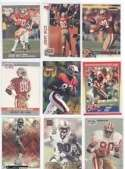12 Assorted Jerry Rice San Francisco 49ers Football Cards