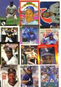 20 Assorted Bo Jackson Baseball and Football Cards With Rookie Card (In Display Album)