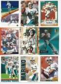 20 Assorted Dan Marino Miami Dolphins Football Cards