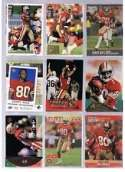 20 Different Jerry Rice Football Cards